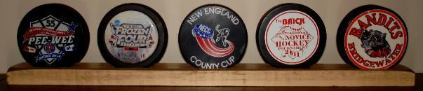 Hockey Puck Display