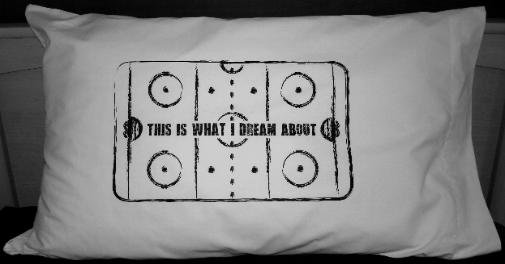 Hockey Rink Pillowcase