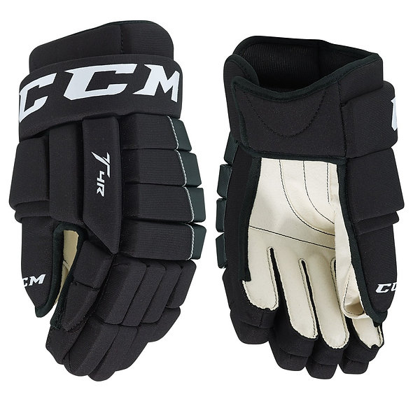 CCM Tack 4-Roll Youth Hockey Gloves
