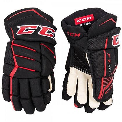 CCM Jetspeed FT370 Junior Hockey Gloves