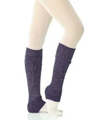Mondor - Legwarmers with silver Lurex 259