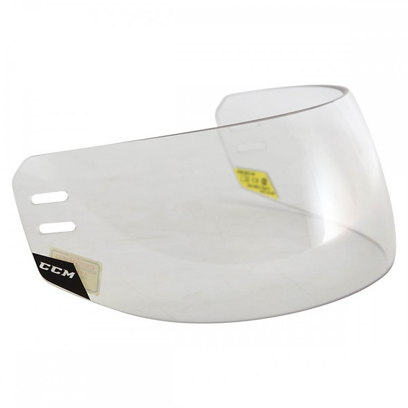 CCM Revision Straight Certified Visor with Spacer