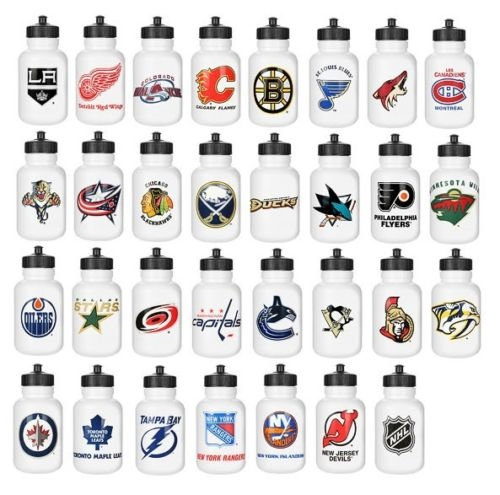NHL Team Water bottles