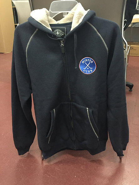 Winter Club Full Zip Sweatshirt