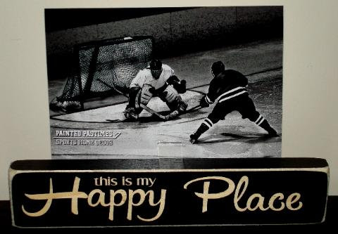 Happy Place Photo Sign