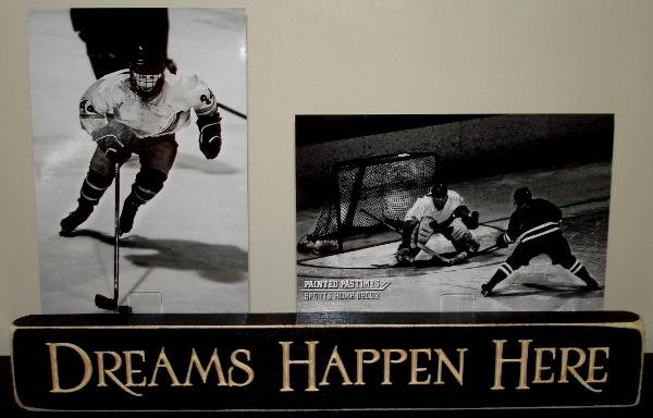 Dreams Happen Here Photo Sign
