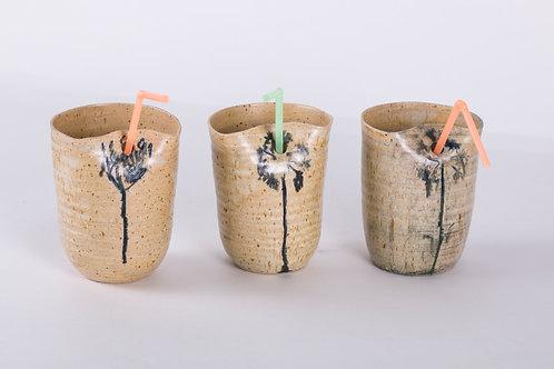 כוסות קיץ פרח