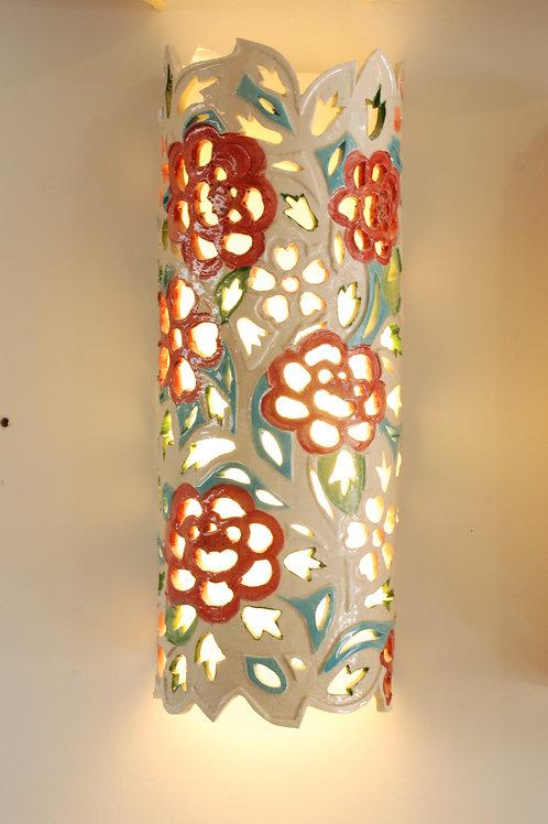 אהיל פרחים ארוך