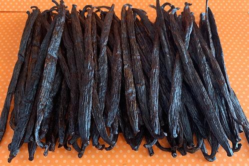 1/4 kg - Bulk Grade A, Fair Trade Vanilla Beans