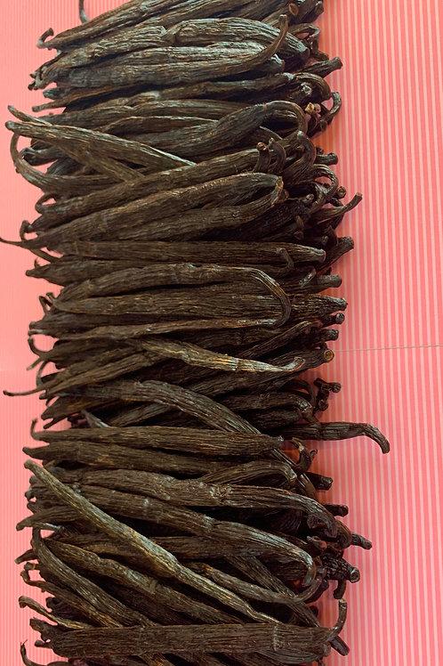 1/2 kg - Bulk Grade A, Fair Trade Vanilla Beans