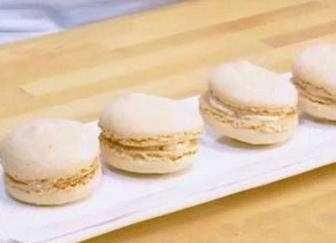 Macarons fromage fumé