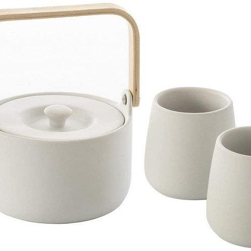 Coffret céramique  blanc 50cl