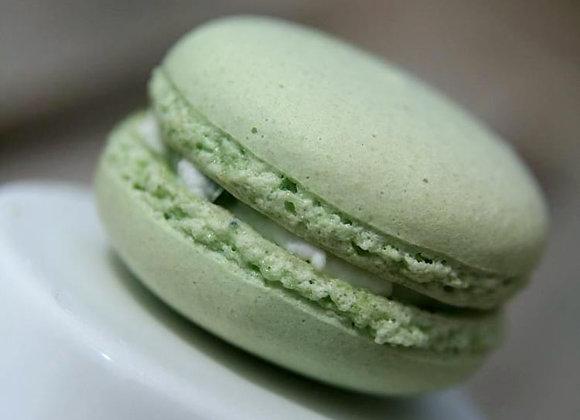 Macarons Basilic citron vert
