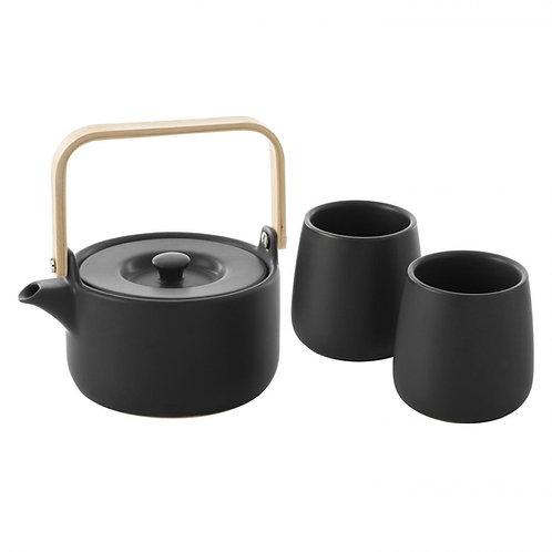 coffret céramique noir 50cl