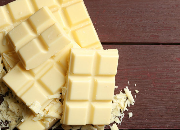 Glace chocolat blanc