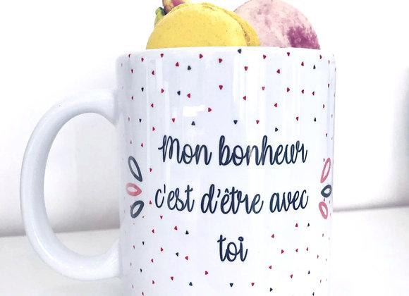 Mug avec Macarons