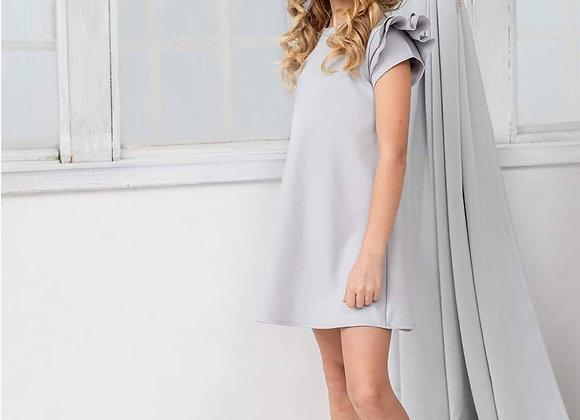 Girl's dress grey