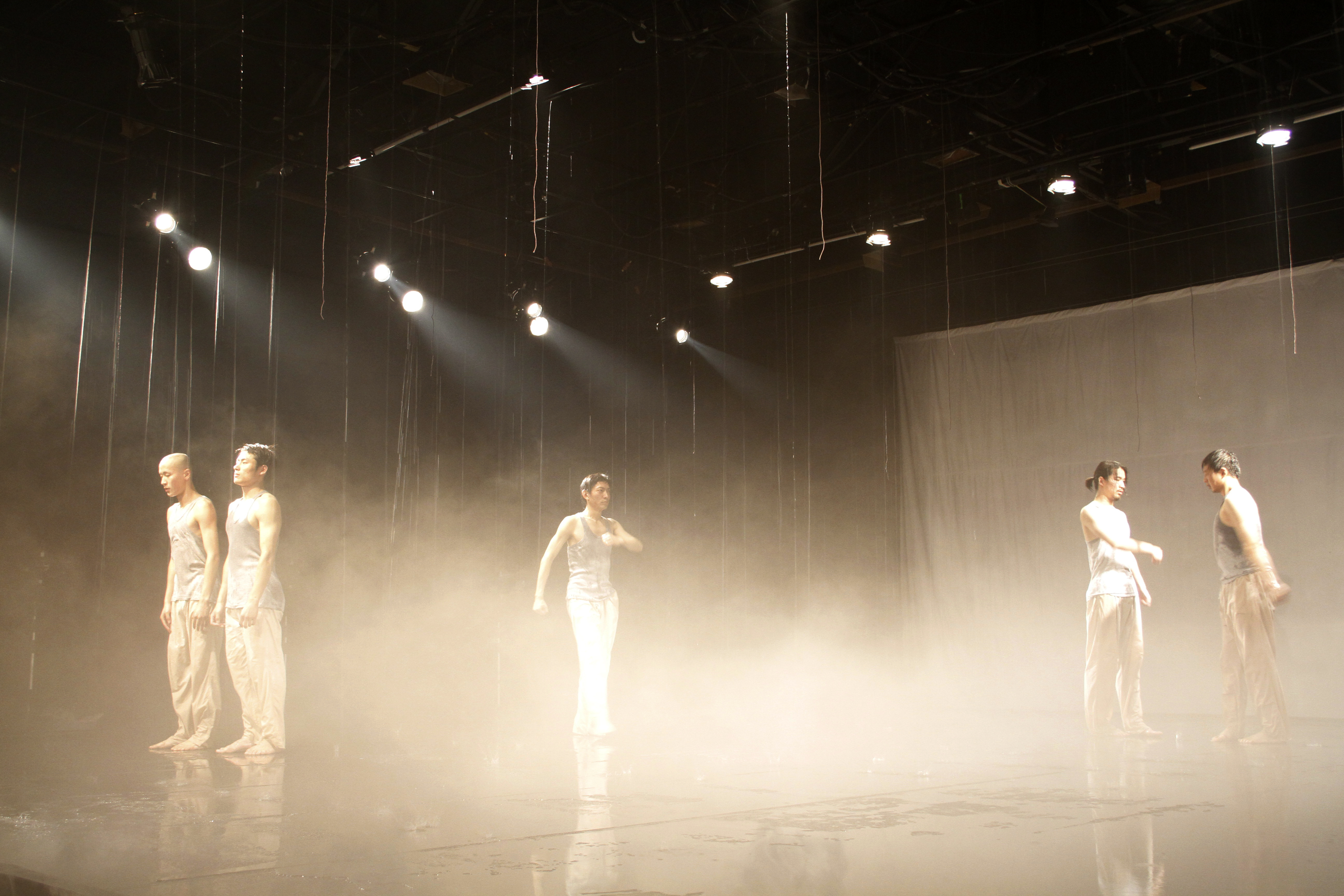 朗诵-雾中站立