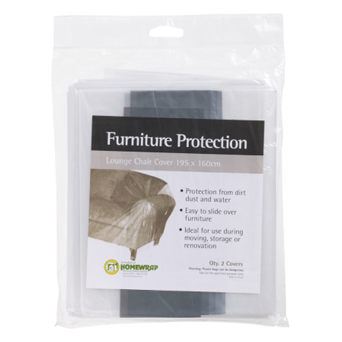 Furniture Cover – Lounge Chair (Pack of 2)