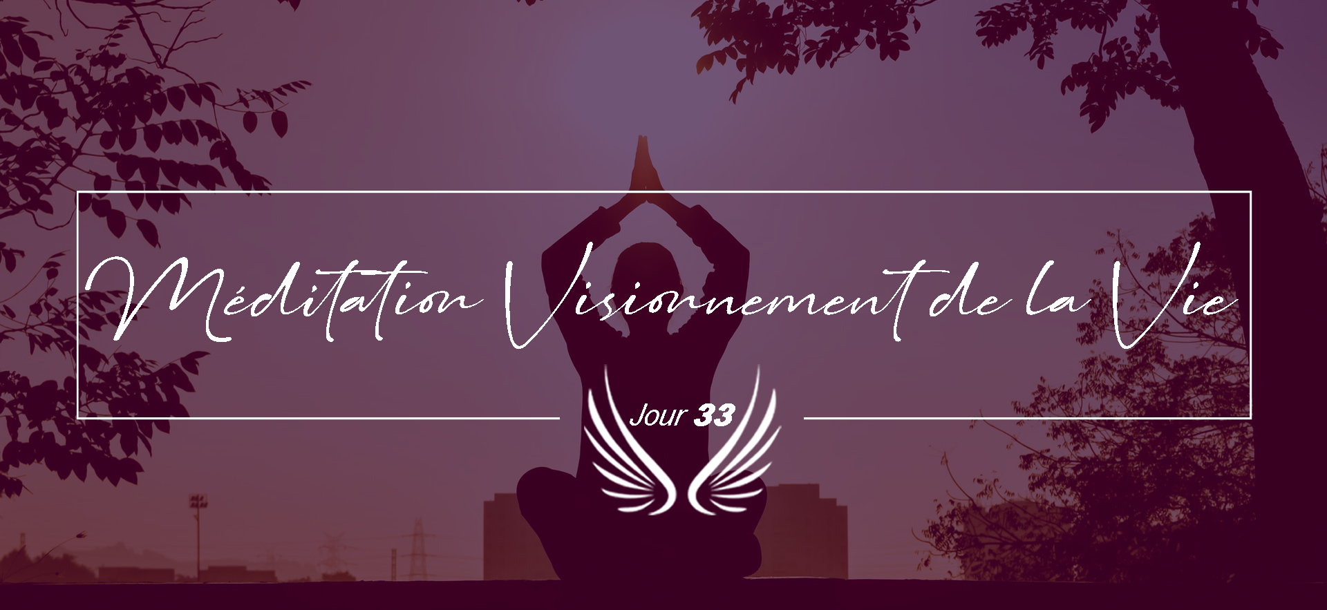 JOUR 33 – MEDITATION VISIONNEMENT DE LA