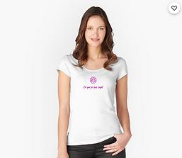 Screenshot 2021-09-05 at 22-18-42 T-shirt échancré « Ce que je suis suffit » par THIERRY M