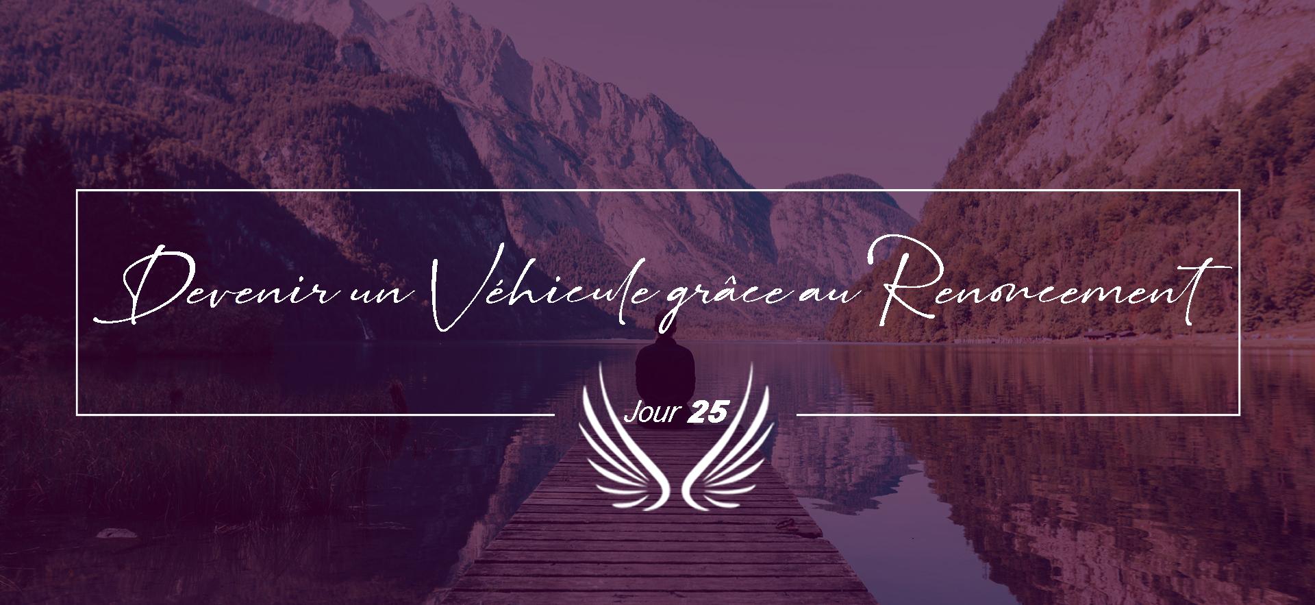 JOUR 25 – DEVENIR UN VEHICULE GRACE AU R