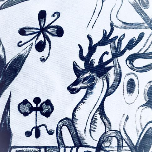 Detail /The deer/