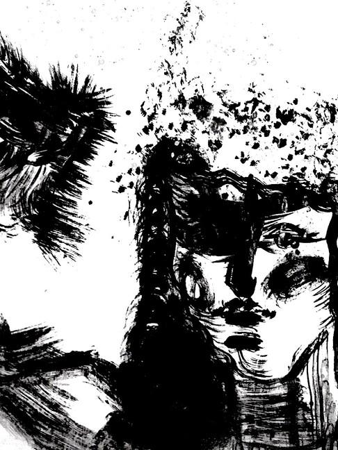 Inked: Self Portrait
