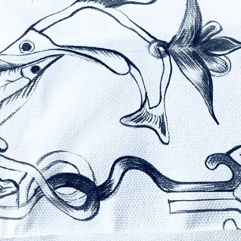 Detail /Armeniasn manuscript inspired/