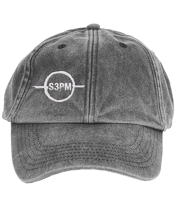 'S3PM' Vintage Low Profile Dad Cap
