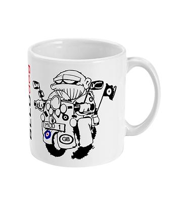 BLLUdog 'Scooter' Mug