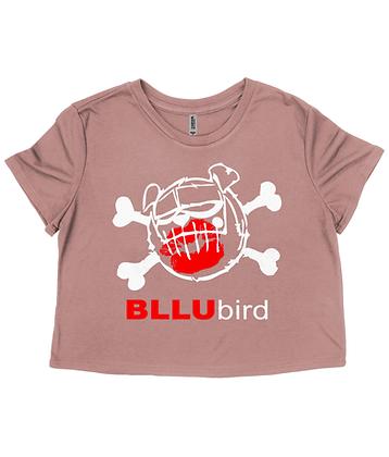 BLLUbird Flowy Cropped Tee