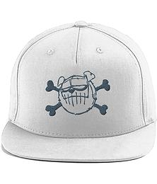 'BLLUdog' Cotton Rapper Cap