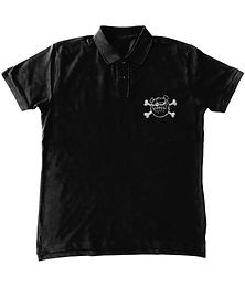 'BLLUdog' Polo Embroidered Logo