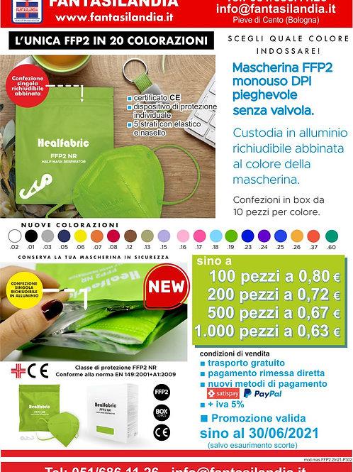 Mascherina FFP2 Colorata