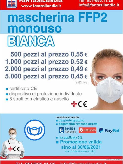 Mascherina FFP2 Bianca