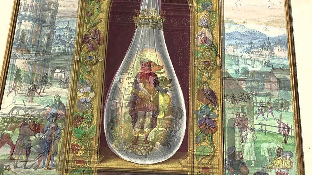 La Spagyrie est la matérialisation du principe alchimique du Solve et coagula . L'art de séparer le pur de l'impur