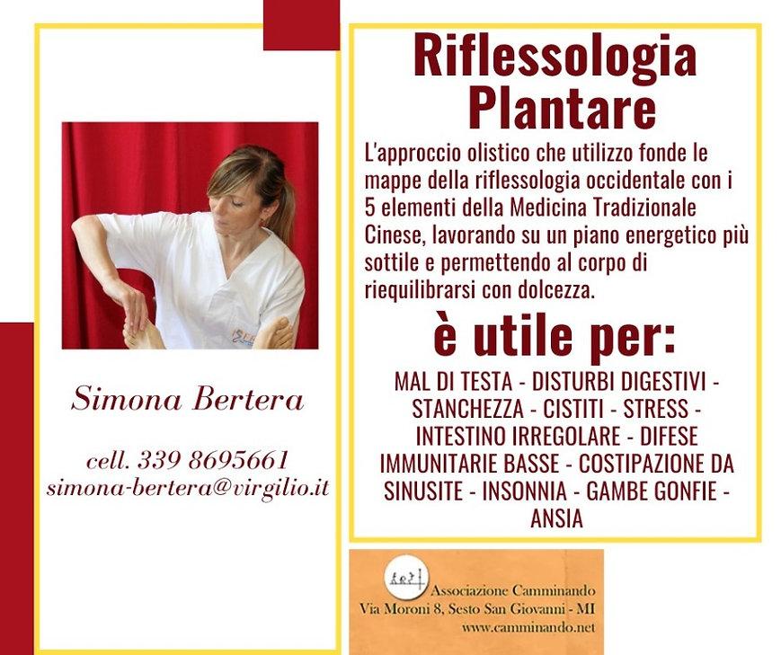 Simona Bertera  riflessologia