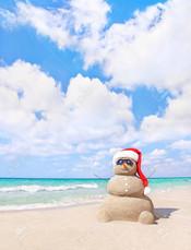 La mer à Noël
