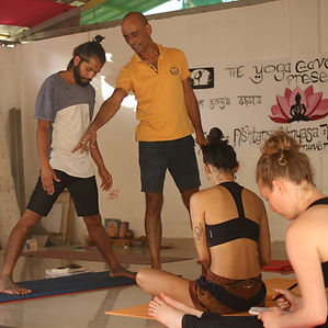 yoga asana alignment class
