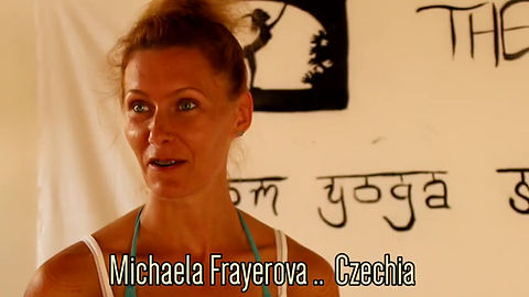 Gal Wagenaar Ashtanga Yoga teacher training Agonda Goa