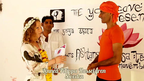 Linnea  Ashtanga Yoga teacher training Agonda Goa