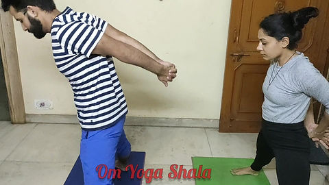 Ashtanga Primary Series Prasarita Padottan asana Vinyasa