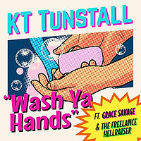 kt tunstall wash ya hands single master.