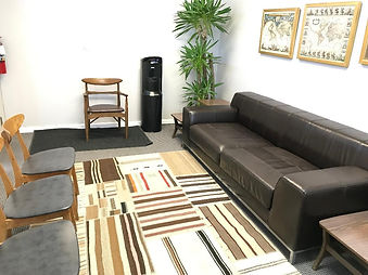 Surf City Holistic Medicine office waiting room
