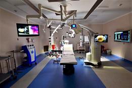 Quirófano en el Centro Médico ABC