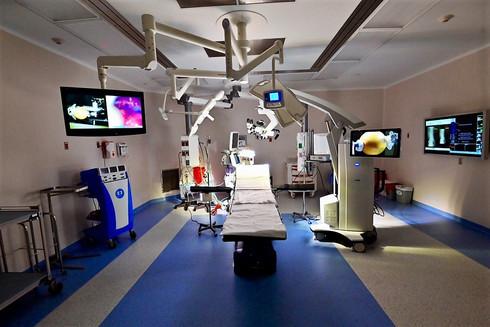 Quirófano en el Centro Médico ABC Santa Fe