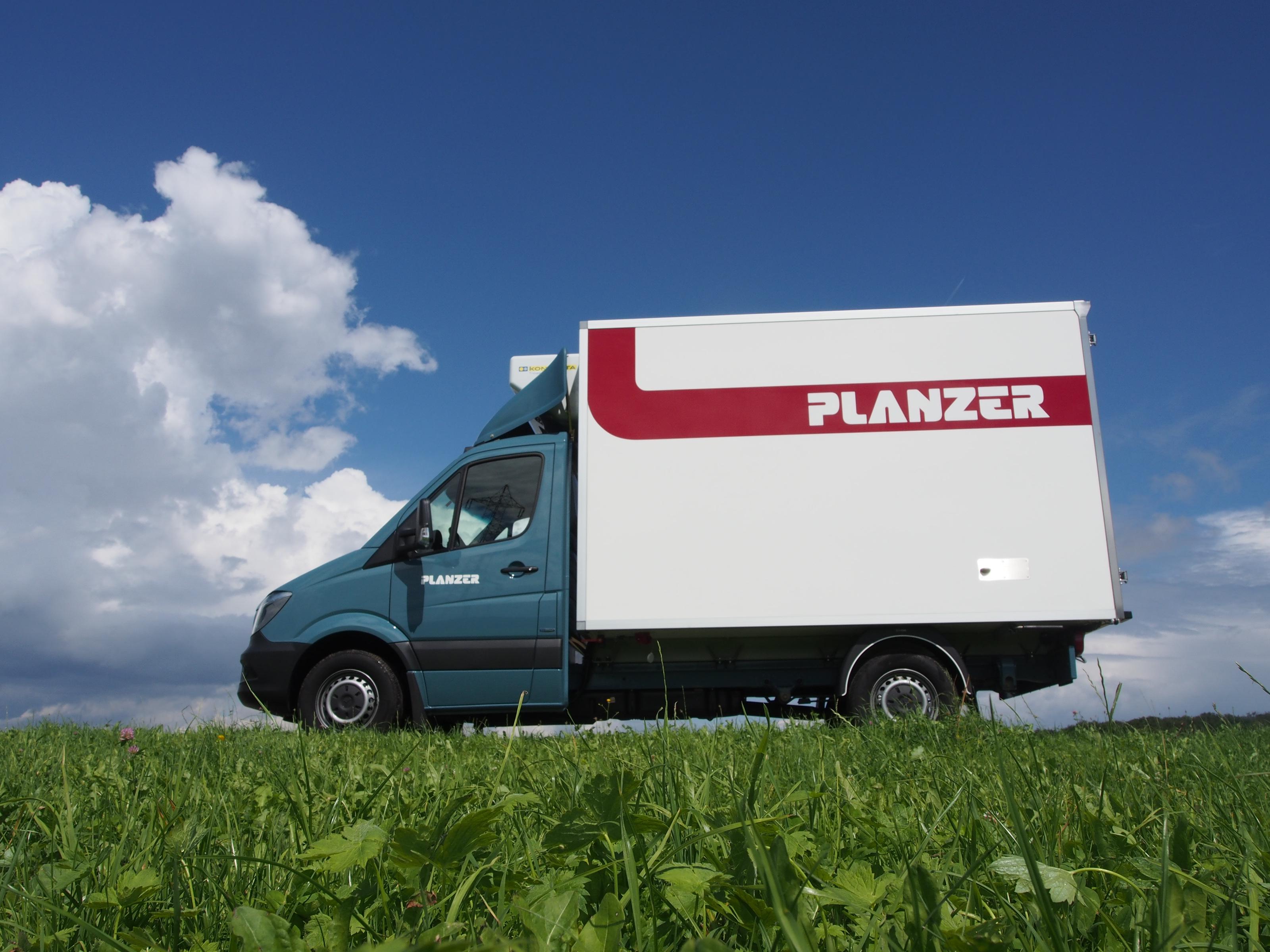 Planzer Kühlfahrzeug