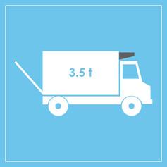 3.5 Kofferaufbau mit Kühlanlage und Kühlanlage