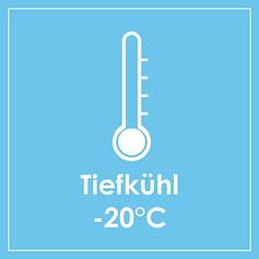 Temperaturrange -25°C bis -15°C